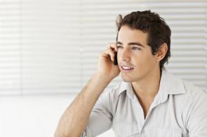 IVR man phone