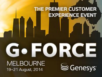 Genesys G-Force Melbourne 2014