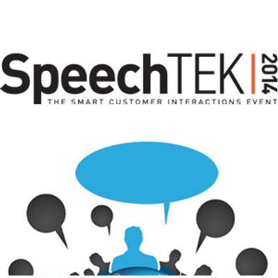 SpeechTEK Customer Experience logo