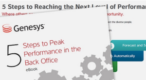Genesys Enterprise Workload Management