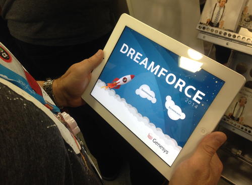 Dreamforce Genesys iPad