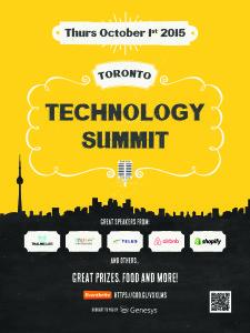 Geneyss TOTech Summit Oct 2015