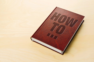 How To book. Personl guide book