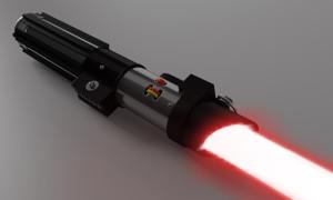 Red Lightsaber