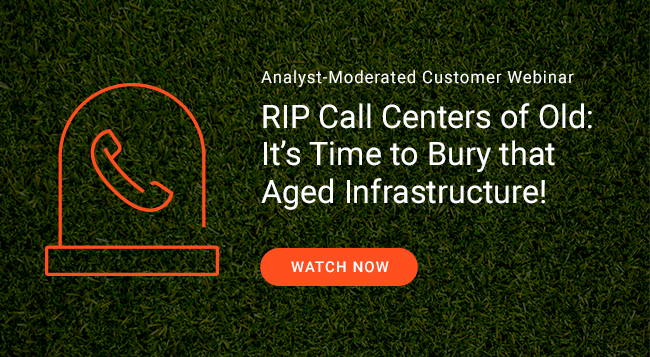 replace old contact center infrastructure