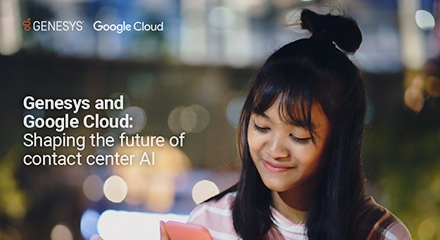 Genesys and google cloud shaping the future of contact center ai eb resource center en