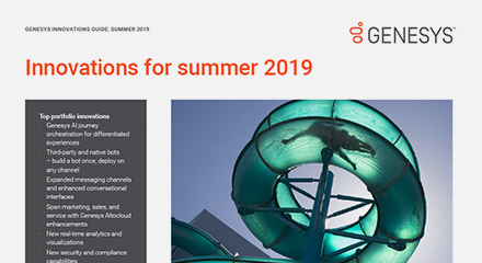 Genesys summer innovations pureconnect flyer resource center en