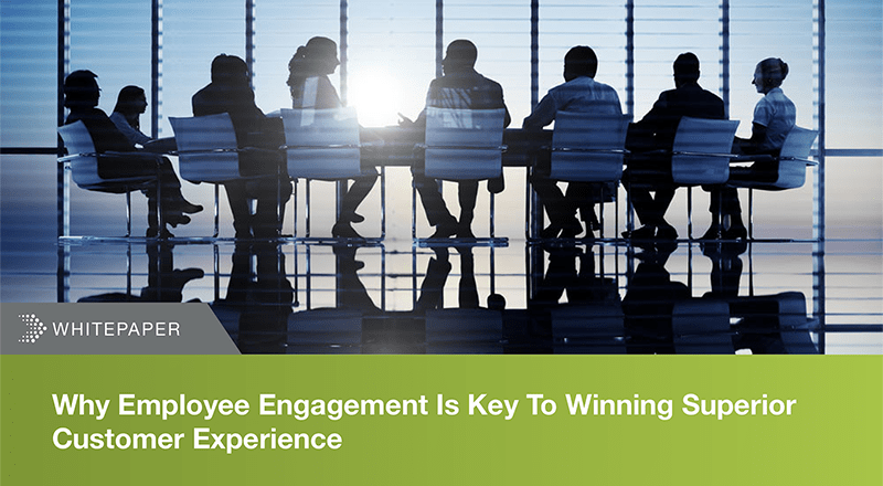 Why employee engagement is key to winning superior customer experience