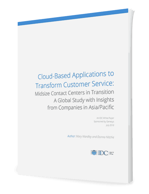 2018 idc report on mid size contact center in transition to cloud apac