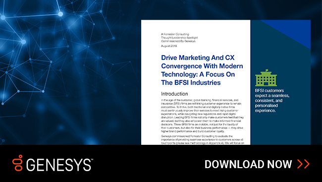 Drive marketing and cx convergence with modern technology bfsi social en