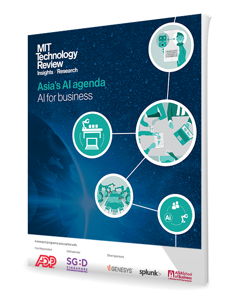 Asias AI Agenda -AI for Business MIT Report