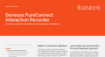 Pureconnect interaction recorder ds resource center en