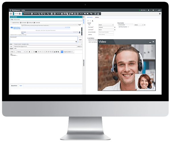 Blend customer interactions from all engagement channels