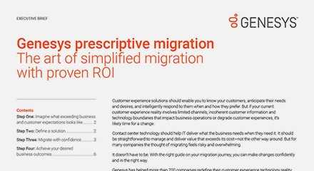 Genesys prescriptive migration ex en thumbnail kit resource center