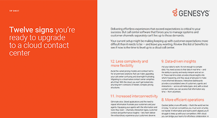 Twelve signs you're ready to upgrade to a cloud contact center ts resource center eng