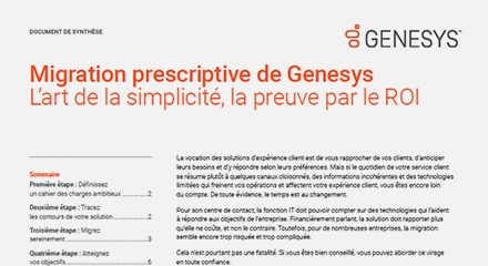 Genesys prescriptive migration ex resource center fr