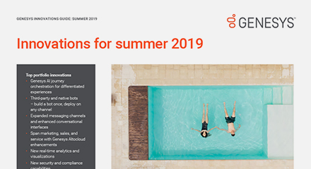Genesys summer innovations purecloud flyer resource center en