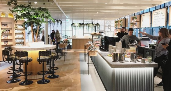 A Stockholm, H&M inaugure son adresse food