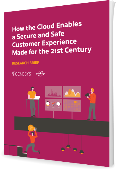 How the cloud enables a secure and safe customer experience th
