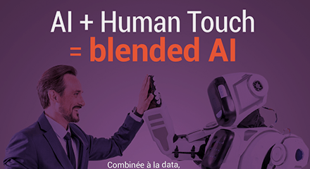 Ai human touch blended ai in resource center fr