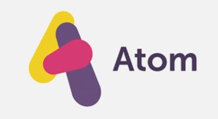 Atom bank logo