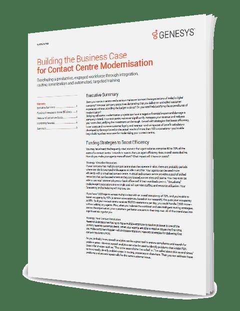 Building the business case for contact centre modernisation wp 3d qe anz