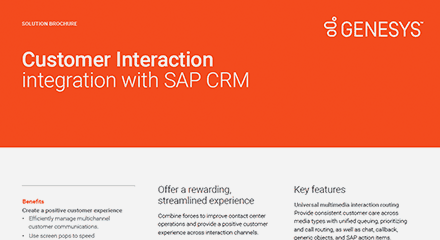 Customer interaction integration with sap crm br resource center en