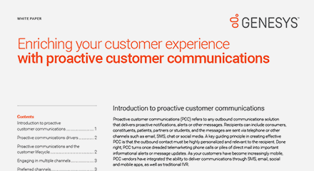 Enriching your customer experience with proactive customer communications wp resource center en