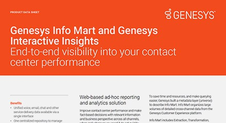 Genesys info mart and genesys interactive insights ds resource center en