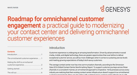 Genesys roadmap omnichannel customer engagement wp resource center en