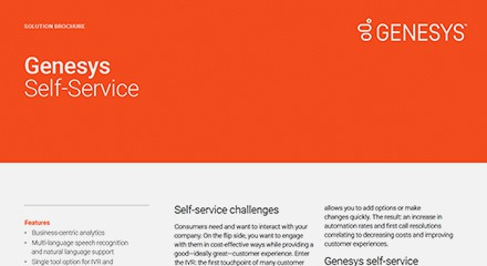 Genesys self service br resource center en