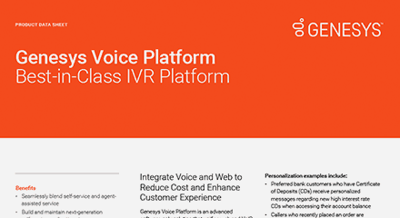 Genesys voice platform best in class ivr platform ds resource center en