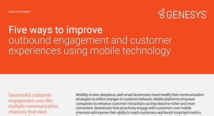 Genesys five ways improve outbound engagement eb resource center en