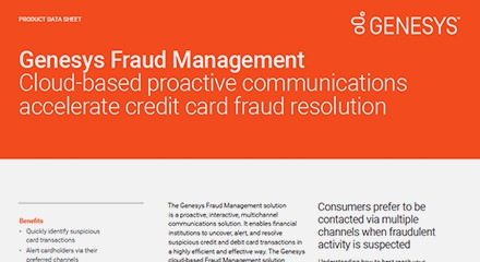 Genesys fraud management ds resource center en