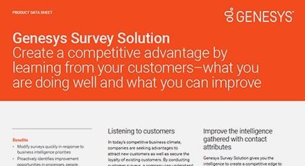 Genesys survey solution ds resource center en