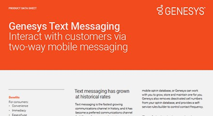 Genesys text messaging ds resource center en