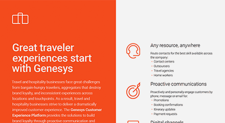 Great travel experiences start with genesys br resource center en