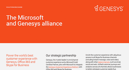 Microsoft genesys alliance br resource center en