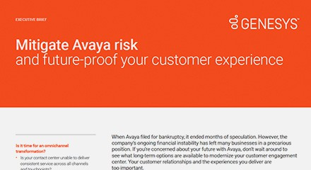 Mitigate avaya risk and future proof your customer experience ex resource center en