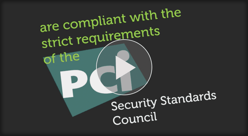 Pci compliant payments video sidebar qe