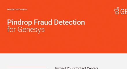 Pindrop fraud detection for genesys ds resource center en