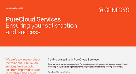 Purecloud services br resource center en