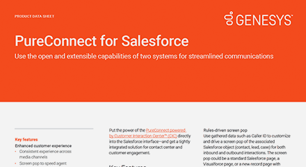 Pureconnect for salesforce