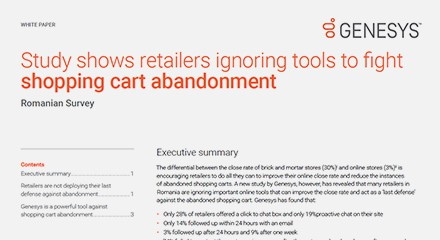Romanian study shows retailers ignoring tools fight shopping cart abandonment wp resource center en