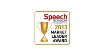 Speech Industry Market Leader 2013