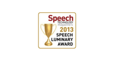 Speech Industry-Speech Luminary 2013