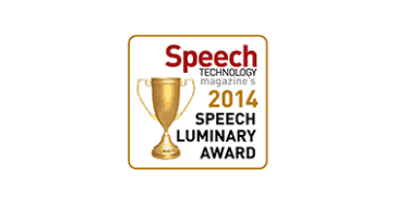 Speech Industry-Speech Luminary Award 2014