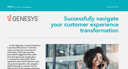 Successfully navigate your customer experience transformation wp resource center en