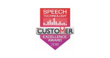 Tmcnet speech technology excellence award 2016