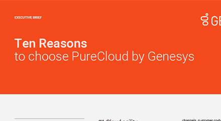 Ten reasons choose purecloud eb resource center en